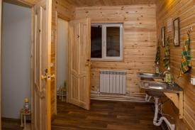деревенские дома туалет